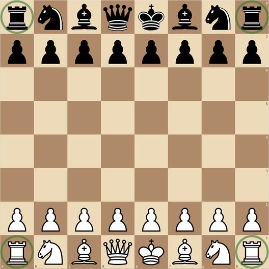 練馬チェス教室 初期配置 ルーク