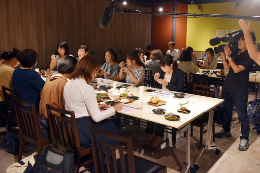 KITEMITE MATSUDO での試食会