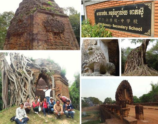 世界遺産サンボープレイクック|カンボジア旅行|オークンツアー|現地ツアー