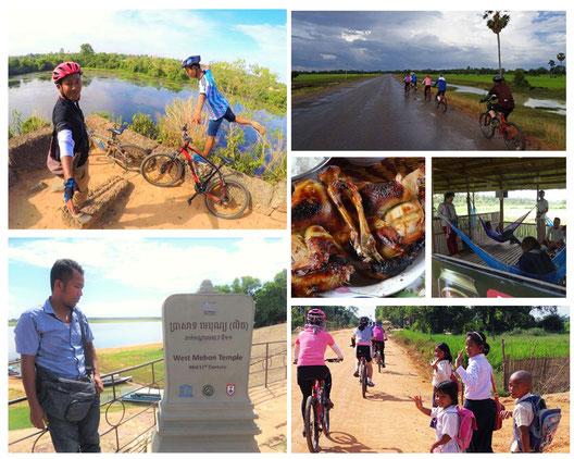 西バライ|カンボジア旅行|オークンツアー|現地ツアー|サイクリング
