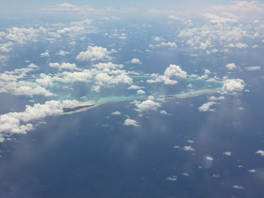 Korallenatoll, Atoll von Kiribati, Maiana, Tarawa