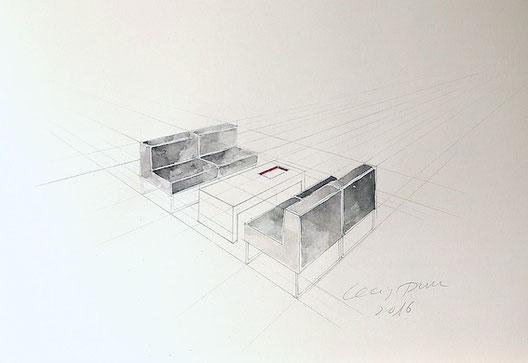 Architekturstudium, Mappenvorbereitung Düsseldorf Cecily Park