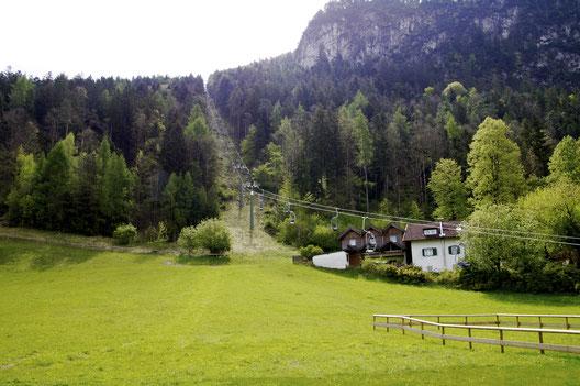 Regionalsport Hazel and Hazel go vegan Kaiserlift Kaisergebirge Naturschutzgebiet Kufsteinerland