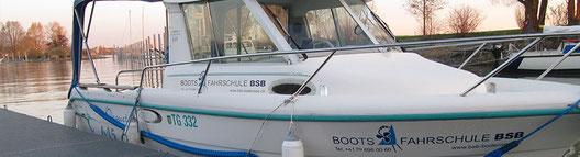 Schulungsboot