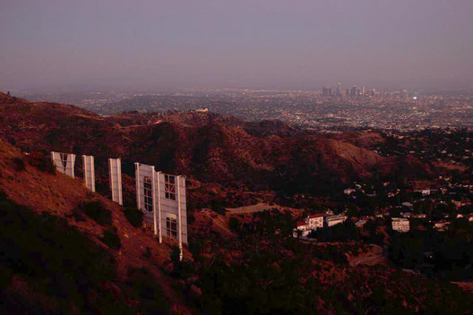 Best viewpoint of the Hollywood Sign