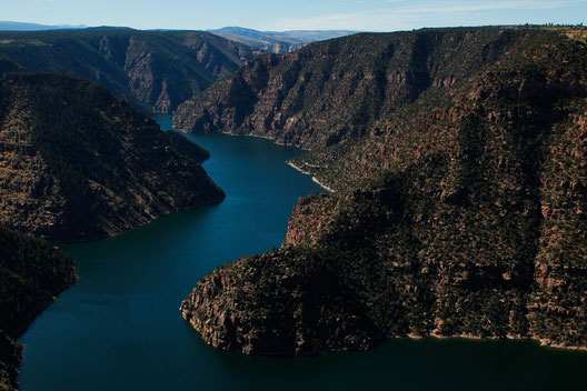 Flaming Gorge, Sehenswürdigkeiten Wyoming, Canyon USA