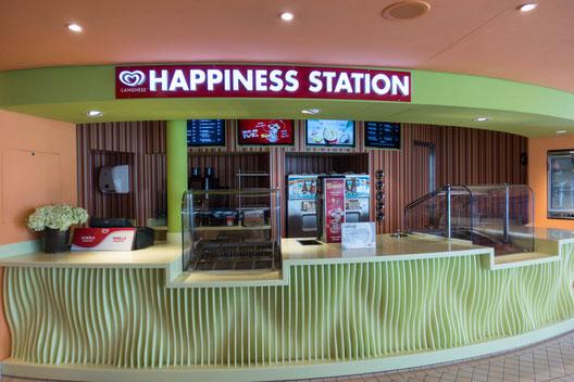AIDAblu Happiness Station