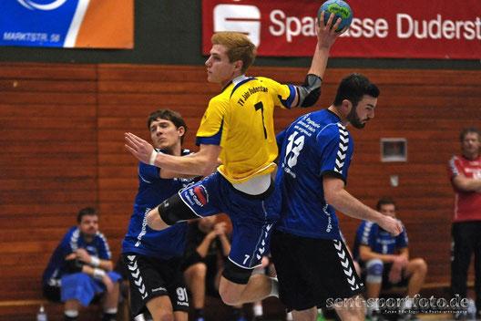 TV Jahn Duderstadt II (gelb) vs SG Zweidorf/Bortfeld