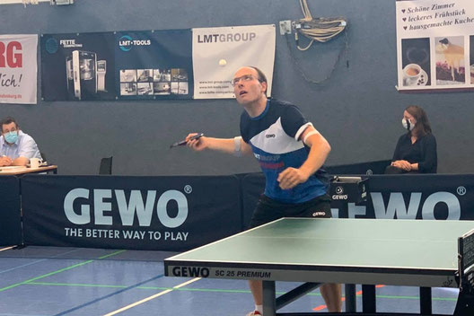 Sören Wegner konnte seine starke Form beim ersten Saisonspiel gegen Velbert II unter Beweis stellen