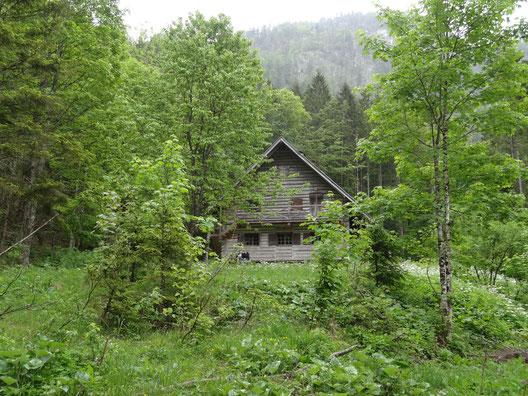 Ein Jagdhaus im Salzkammergut (Bild ltm)