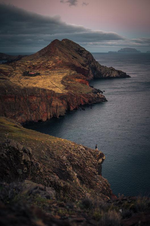 Die Inselspitze von Canical