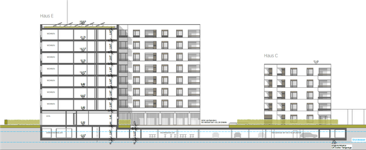 Architekturentwurf Neubau Campus Velbert/Heiligenhaus der Hochschule Bochum