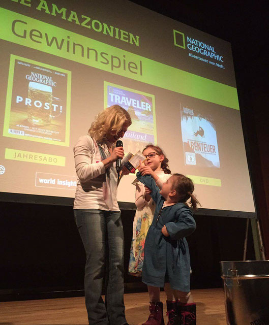 Gewinnspiel bei der National Geographic Tour in Hamburg