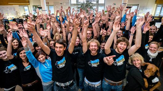 Jimdo team - Amburgo 2012