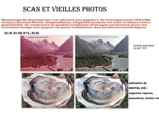 Scan et vieilles photos