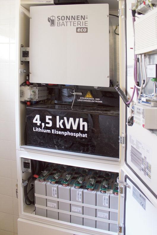 Sonnen-Batterie Caritas Fulda
