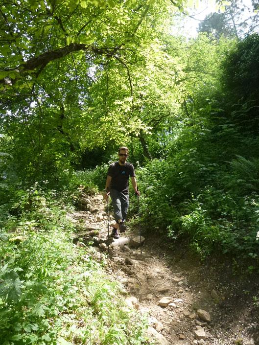 Marche Nordique avec Ardèche Randonnées