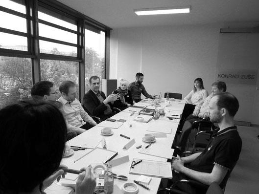 Erstes Clubgespräch des business innovation club, Foto N. Hildesheim