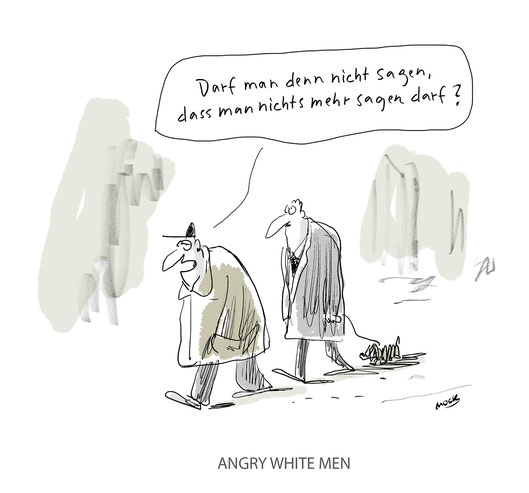 Angry White Men Political Correctness AFD