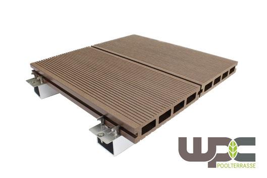 BPC Bambus WPC Terrassendielen Terrasse Balkon WPC Dielen m2 Preis günstig im Online Shop Komplett Set Angebot