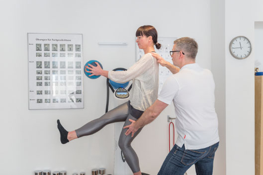 Christina Friess Studio Stuttgart Power Plate Personal Training Startpaket Betreuung im Gruppentraining