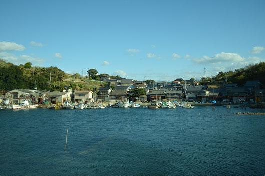 漁師の集落『湛江』風景