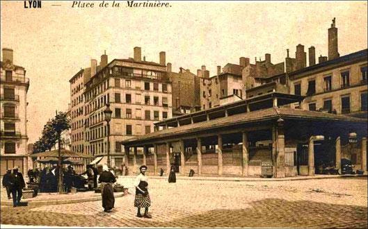 Place de la Martinière (vers 1905)
