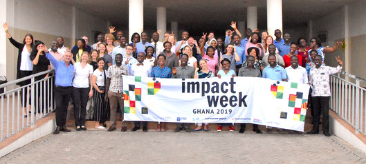Train the trainer - Bootcamp at the University of Ghana