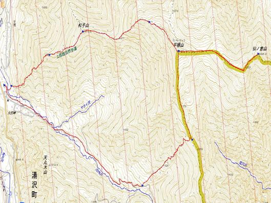 距離:14.5km 時間:8時間41分 累積標高差:約1100m