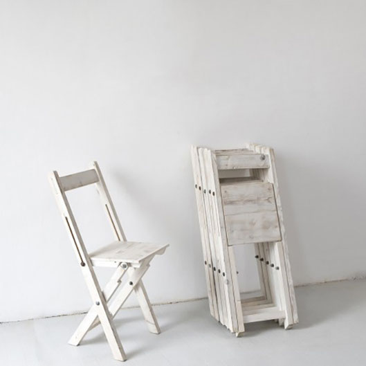 """Siesta"" folding chair (120,- EUR)"