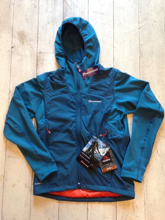 MONTANE(モンテイン) ALPHA GUIDE JACKET(Moroccan Blue) ¥24,000(税込)