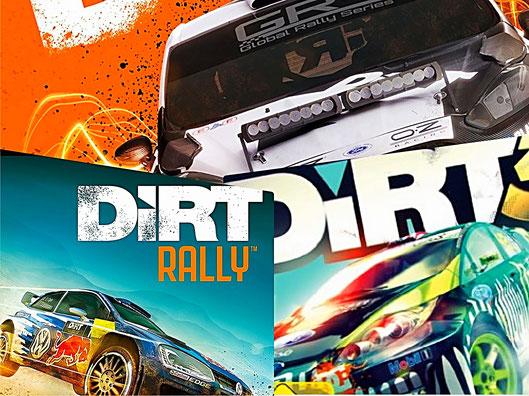 DiRT Rally-Spiele