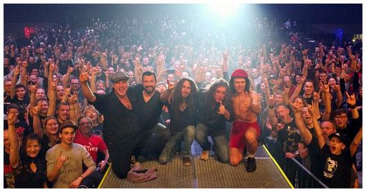 BAROCK the AC/DC tribute show Landshut Sparkassen-Arena