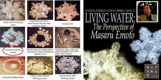 Wasserkristal Lourdes Masaru Emoto, Kerstin Mais