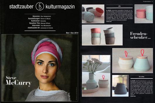 Stadtzauber Ausgabe Nov/Dez 2014