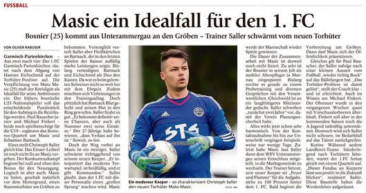 Ga-Pa Tagblatt vom 18.06.2016