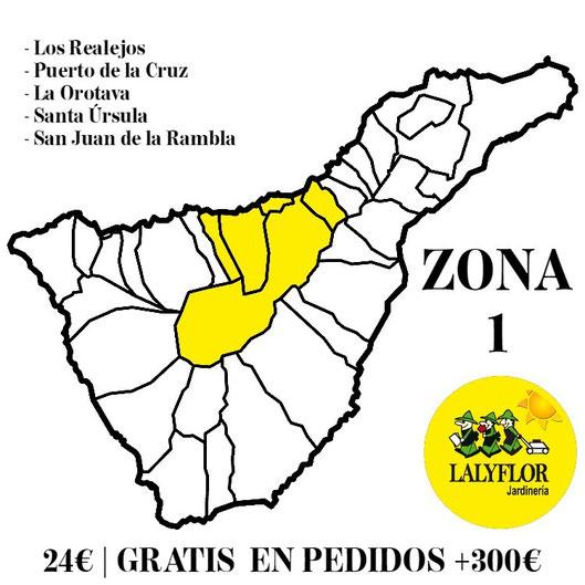 Tarifas de transporte - Zona 1 - Lalyflor