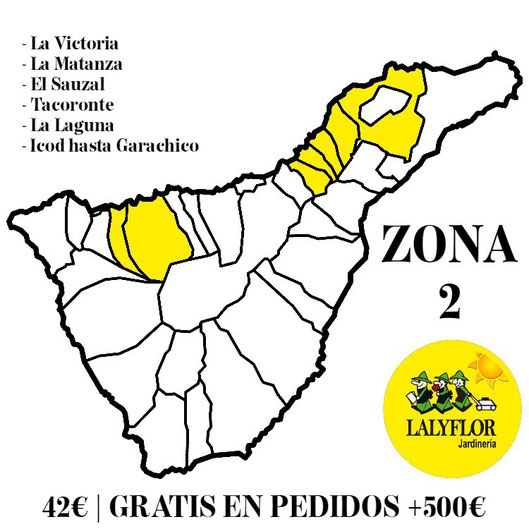 Tarifas de transporte - Zona 2 - Lalyflor