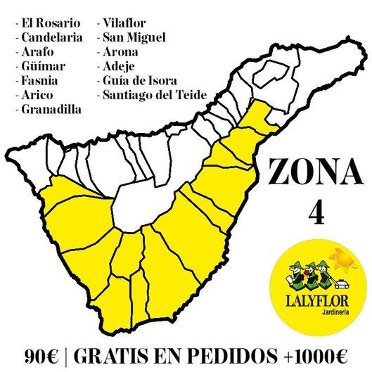 Tarifas de transporte - Zona 4 - Lalyflor