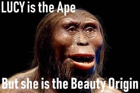 #LUCYtheBeautyOrigin ape