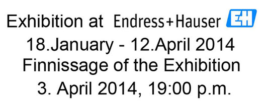 Exhibition at Endress Hauser, Maulburg, Houlmann Jean-Claude