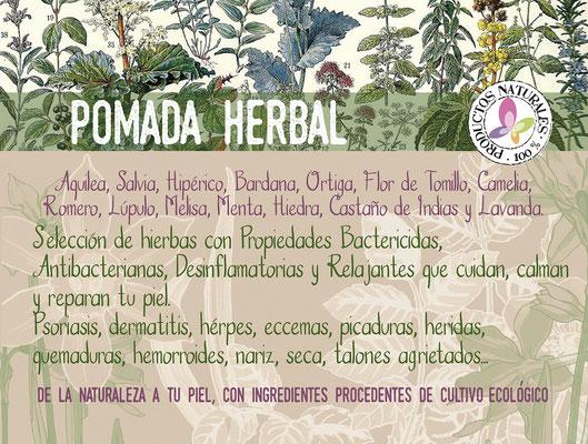 pomada herbal calmante y cicatrizante-tienda online decolores natur