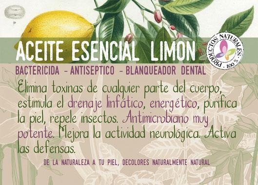 Aceite esencial de limón-decoloresnatur-tienda online cosmética natural-prodcutos ecológicos certificados