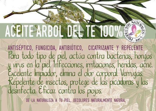 Aceite puro del árbol del té-decoloresnatur-cosmética natural-tienda online