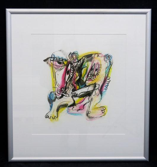 te_koop_aangeboden_een_zeefdruk_van_de_nederlandse_kunstenaar_henk_vierveijzer_1950