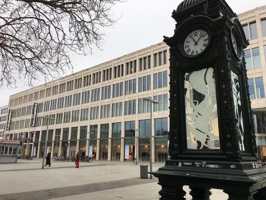 Kröpcke Uhr, Bárbara Paulin, Kunstwerk Hannover