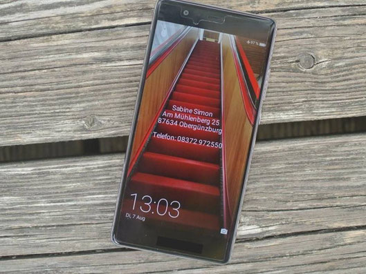 Smartphone verloren oder Unfall passiert? Sperrbildschirm anpassen - Lifehack