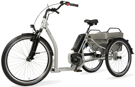 Dreirad für Erwachsene Pfau Tec Grazia Bosch