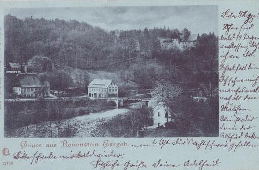 Bild: Wünschendorf Erzgebirge Rauenstein