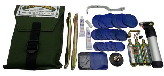 Tyrepliers Complete Motorcycle Repair Kits